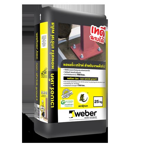 webertec non-shrink grout+