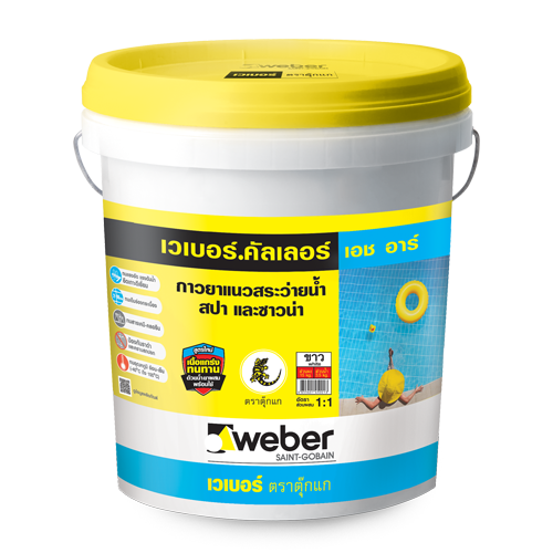 Keo dán bồn nước webercolor HR