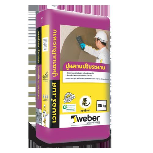 Vữa xi măng chuyên dụng weberbase levelling plaster