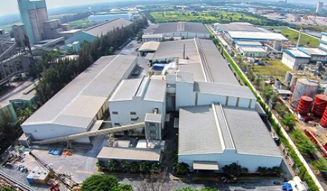 Take over gypsum board factory from Vinh Tuong