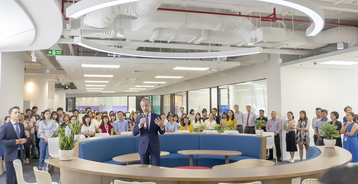 Văn phòng mới Saint-Gobain Việt Nam